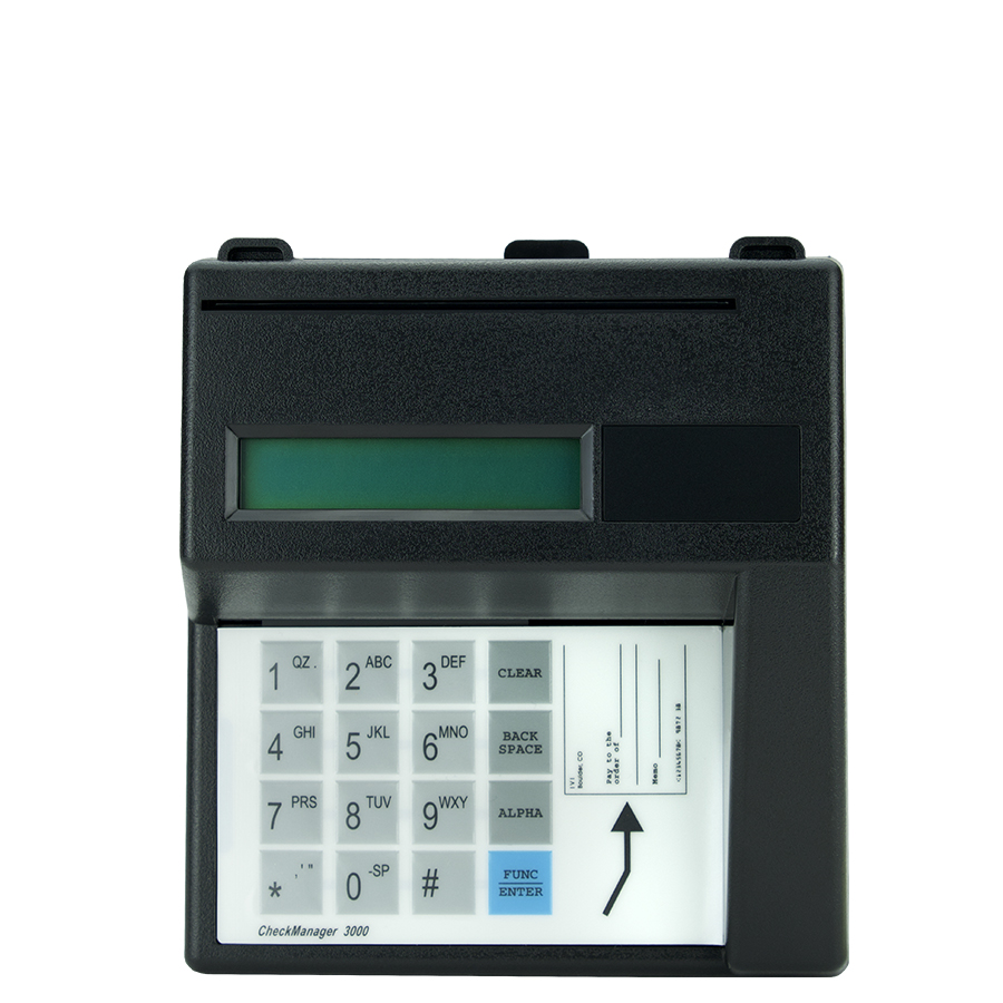 Ingenico CM 3000 Check Reader from POS Global Concepts